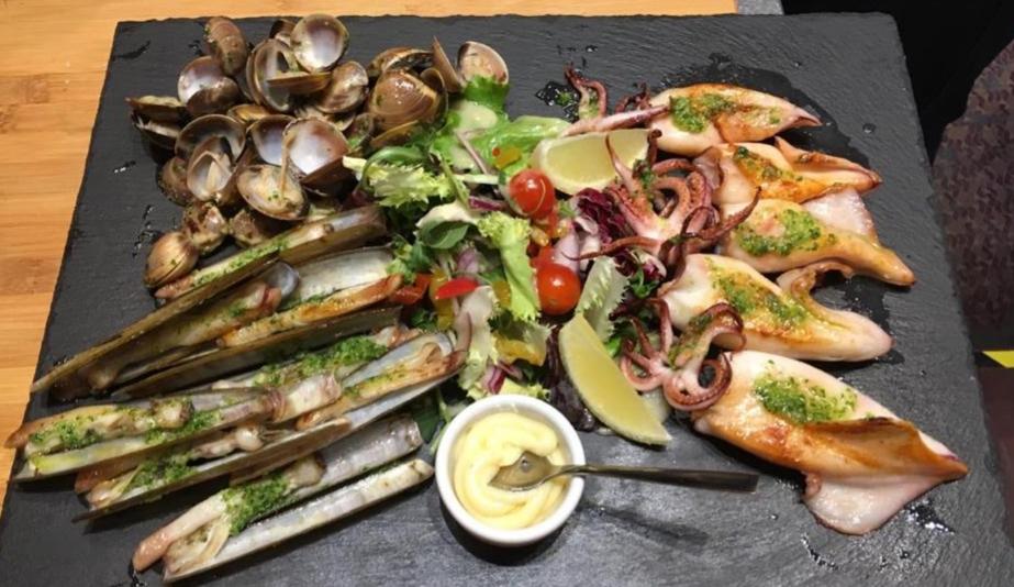 Assiette de fruits de mer chez Restaurant El Carlit Pas de la Casa en Andorre