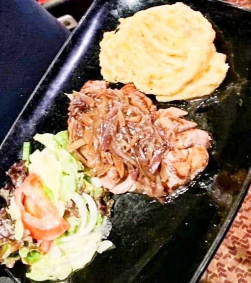 Manger Onglet de bœuf à l'échalote Restaurant Pas de la Casa Andorra Restaurant El Carlit Steak House Andorre