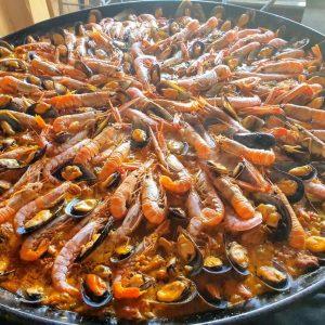 Paella aux fruits de mer Groupes Romantique Réunions d'affaires Restaurants - cuisine Espagnole à Pas de la Case en Andorre-la-Vieille, Paellas et Fideuas