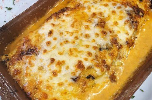 Restaurant El Carlit Pas de la Casa, propose une lasagne a l'authentique qui vous fera réviser votre avis sur la lasagne